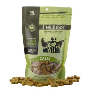 Treatables Hard CBD Chews for Dogs Turkey