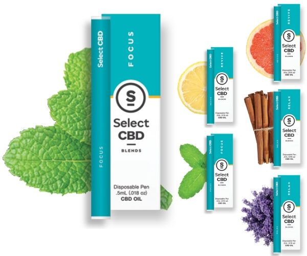 Select CBD Blends Disposable Pen